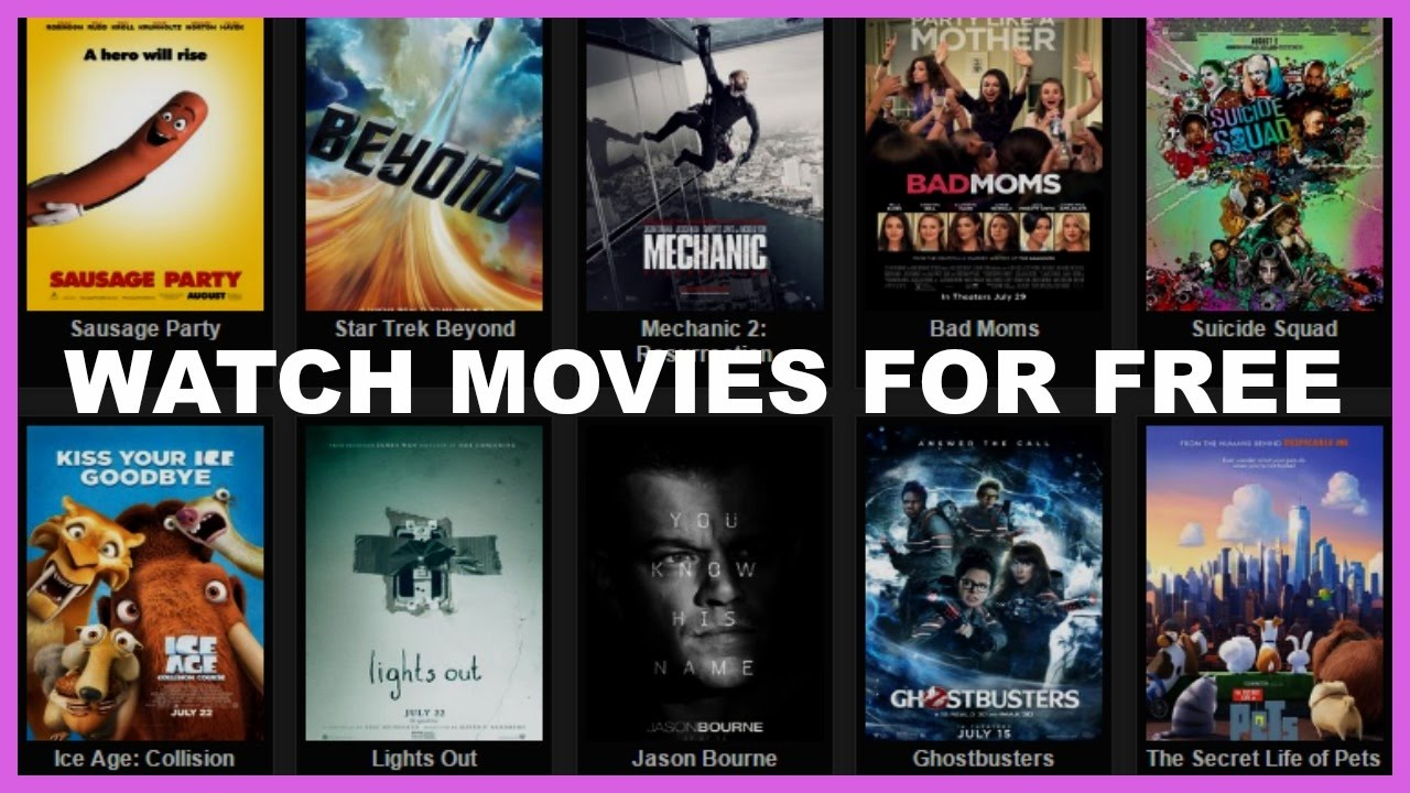 Top 5 Best Sites To Watch Movies Online For Free ( 2016/2017)