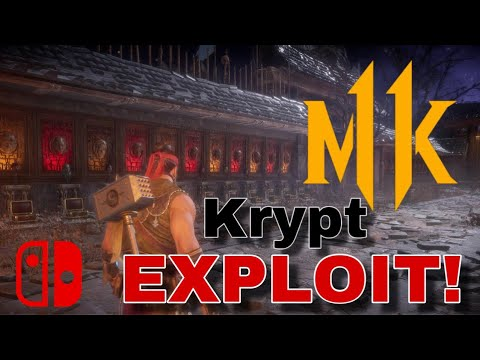 Krypt Exploit Patched? NOT ON SWITCH! [MK11]