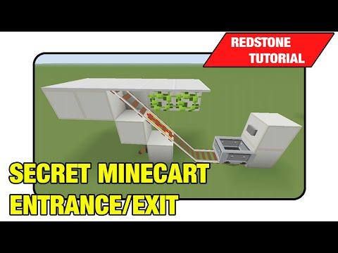 Secret Minecart Entrance/Exit