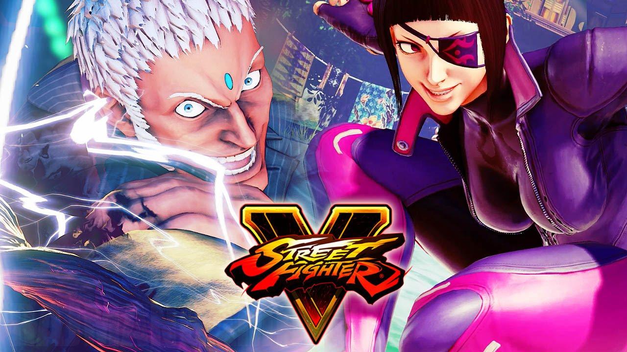 Street Fighter 5 Juri Urien Ibuki Balrog Super Intro