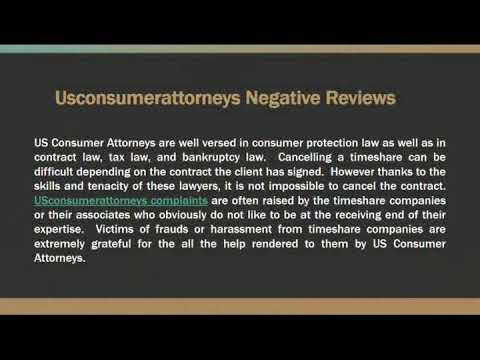 US CONSUMER ATTORNEYS -  Reviews & Reputation Score