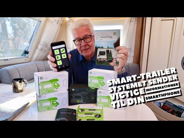 Smart-Trailer testes af Peer Neslein fra Campingferie.dk