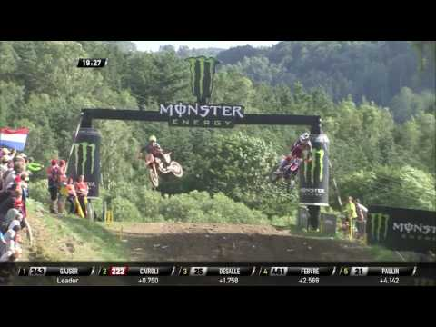 Cairoli passes Gajser for the first position
