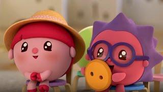 Малышарики - Автобус 🚌- серия 69 - обучающие мультфильмы для малышей 0-4