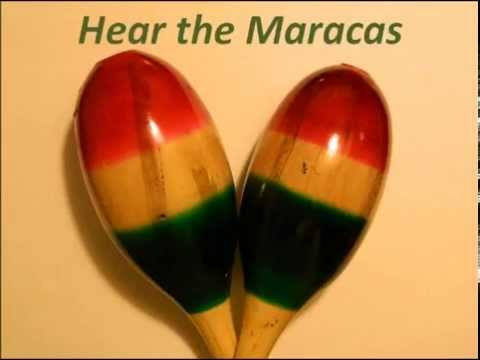 Hear the Maracas - Rumba Shakers - Rattles - Percussion Instrument