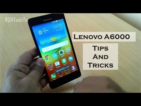 Lenovo a6000 Tips and Tricks | Features Overview