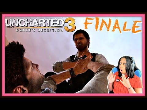 NO MORE RUNNING!!! | Uncharted 3: Drake's Deception FINALE!! (Ch. 17-22) Gameplay!!!