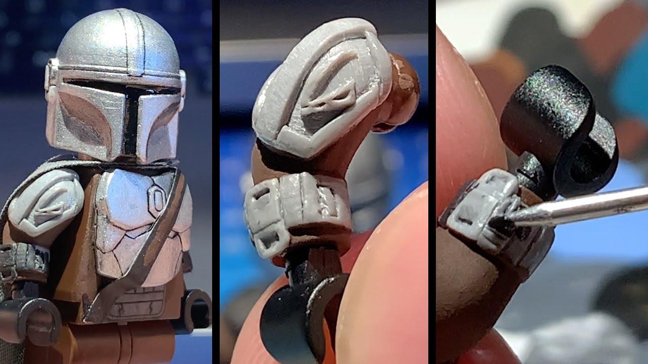 Making LEGO Mandalorian S2 Customs - Sculpting Shoulders