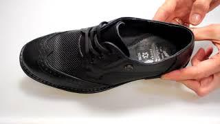 Классические школьные туфли для мальчика Constanta 1011 - Видео обзор школьной обуви