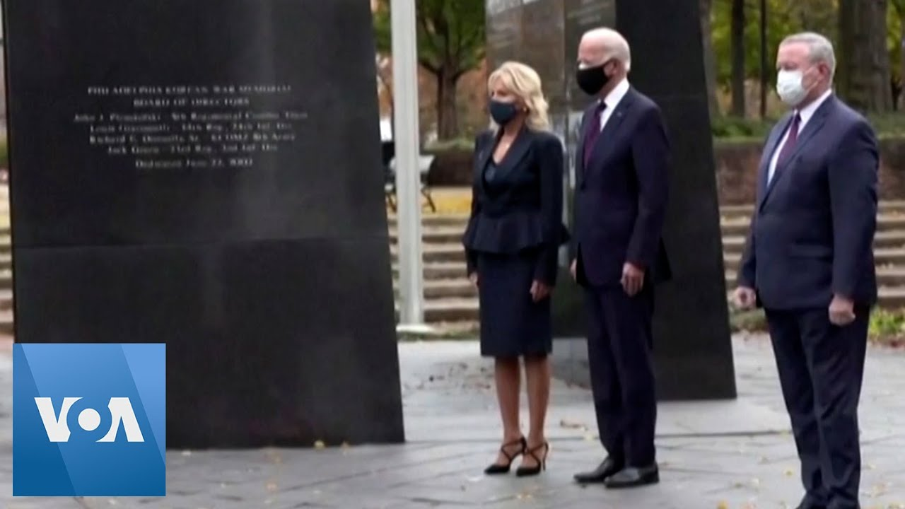 At Today's COVID Memorial, Kamala Harris and Jill Biden's Outfit ...