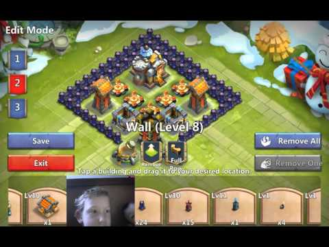 Best Layout For Castle Clash 9 Town Hall