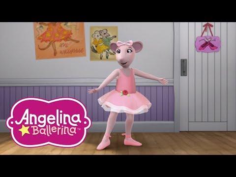 Angelina Ballerina Latinoamérica  Lección de Ballet  Part 3