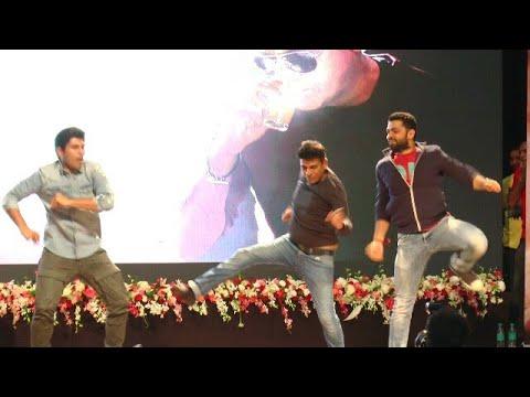 Shivrajkumar & Rakshith Shetty Tiger Dance In Tagaru Movie Function