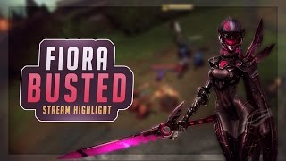 TRIFORCE FIORA BUSTED! - SoloRenektonOnly LoL Highlights #2