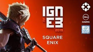 E3 2019: SQUARE ENIX CONFERÊNCIA AO VIVO DUBLADO EM PORTUGUÊS | IGN na E3