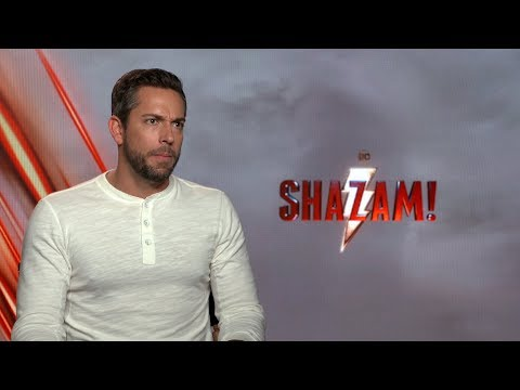 'Shazam!' star Zachary Levi on his defense of Brie Larson and 'Captain Marvel'