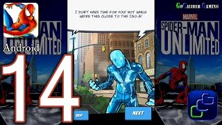Spider Man Unlimited Android Walkthrough - Part 14 - Issue 3: Danger High Voltage