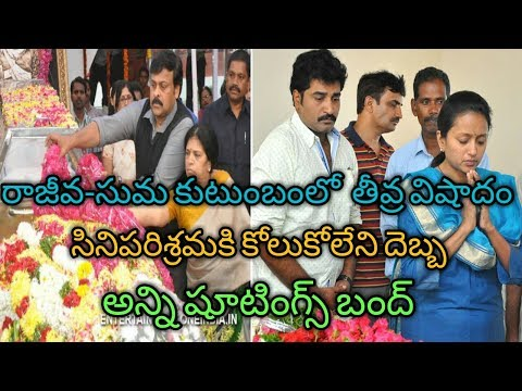 Breaking News Rajeev Kanakala Mother Lakshmi Devi Passes Away 2018 | Suma Mother in law dead