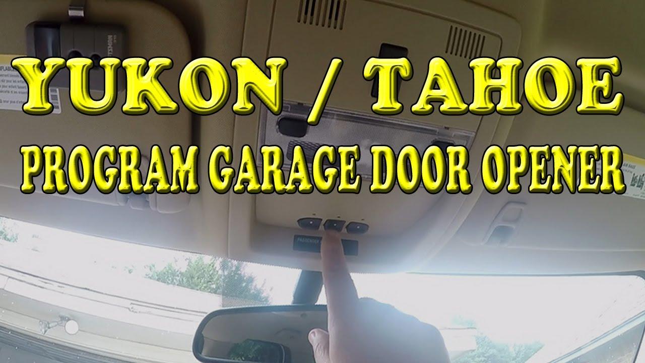 How To Program Garage Door Opener On Gm Car Garage Door