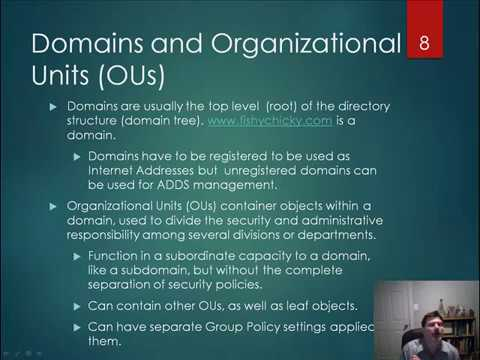 Server 2012 70-410 Lesson 3: Building a Domain Controller