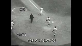 Baseball World Series 1957 Milwaukee Braves vs New York Yankees.mp4