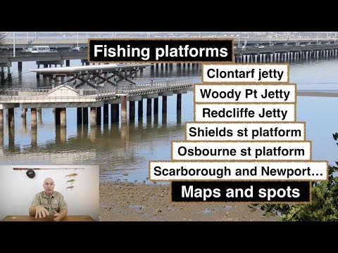 Fishing Platforms And Jetties, Redcliffe. Maps And Spots.