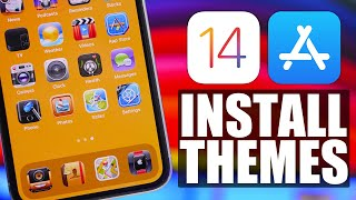 iOS 14 Customization - Install Actual THEMES from App Store !