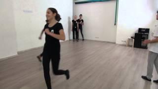 Студия Актер  Окрытый урок  Экзамен по танцу  Педагог  Делятицкая  Г А  18