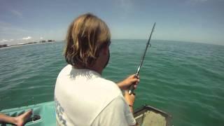Extreme Canoe Fishing Tarpon