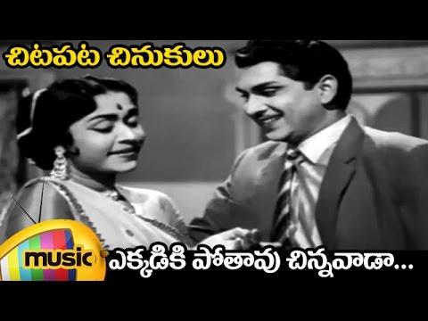 Chitapata Chinukulu Songs | Ekkadiki Poothavu Video Song | Aatma Balam Movie | ANR | Saroja Devi
