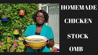 BACK TO BASICS - EP 3: HOMEMADE CHICKEN STOCK - COOKING IN THE GARDEN WITH MAMA BETTY