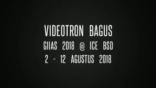 Sewa Videotron Murah - GIIAS 2018 @ ICE BSD Tangerang 2 - 12 Agustus 2018 - Videotron Bagus