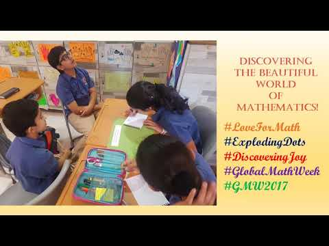 Global Math Week at the Aditya Birla World Academy, Mumbai