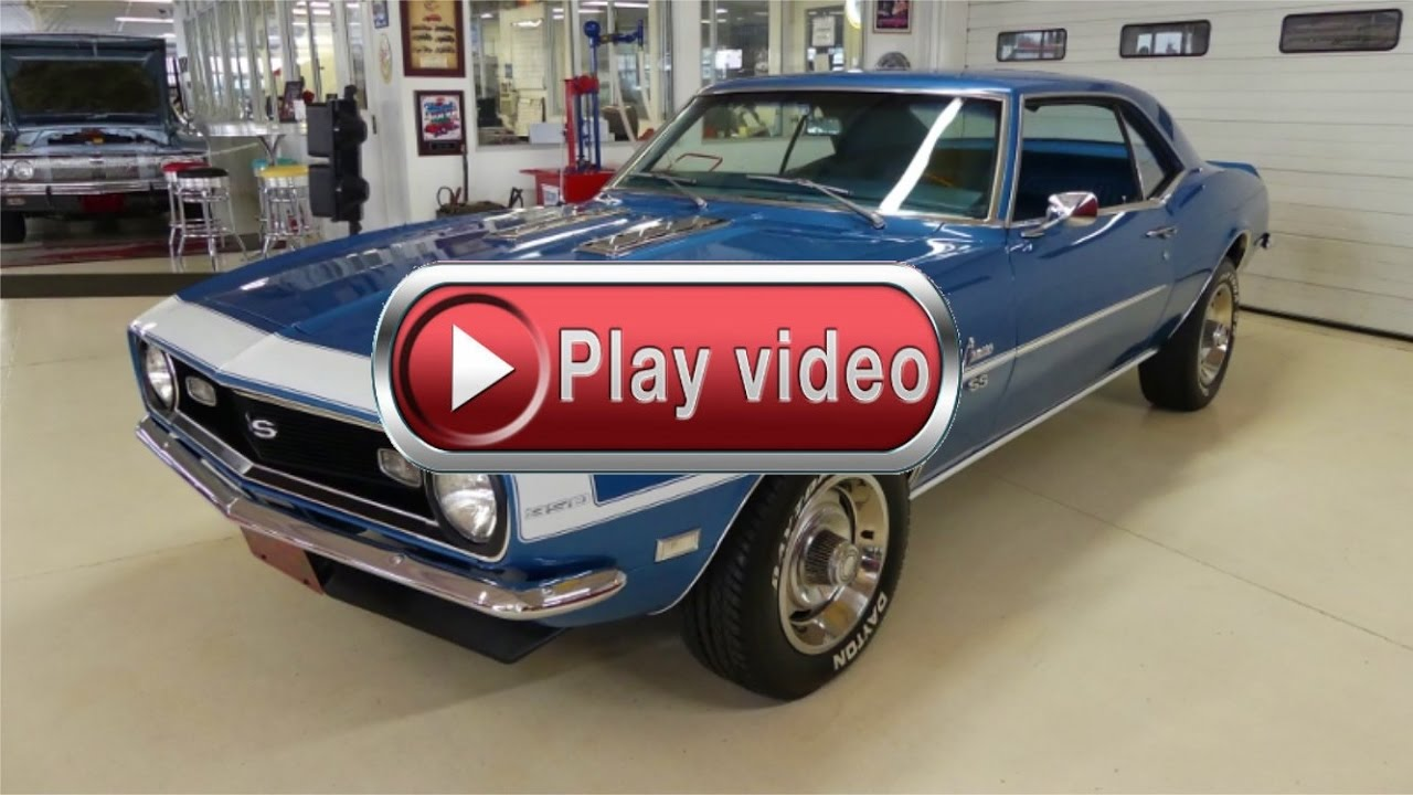1968 Chevrolet Camaro Ss Tribute 350 4 Speed Lemans Blue Youtube Tic Toc Tach Wiring Diagram