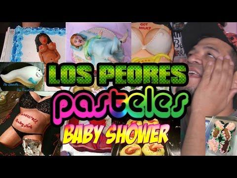LOS PEORES PASTELES DE BABY SHOWER