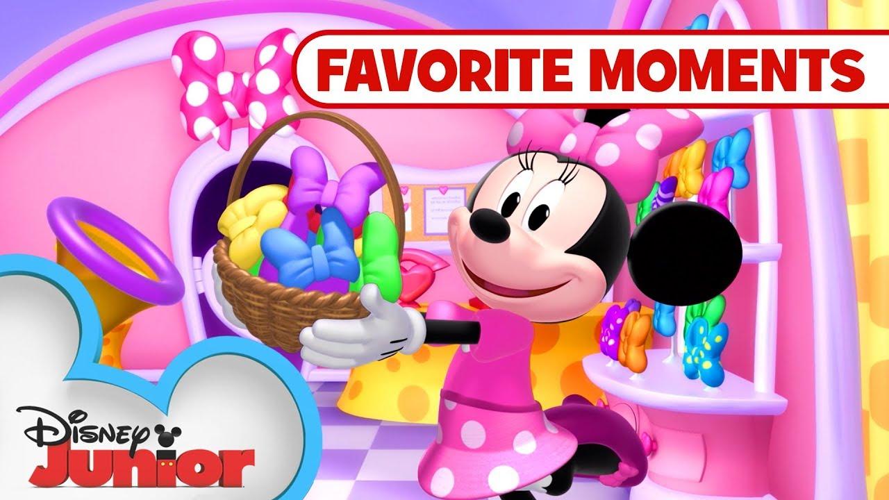 Minnie's Pet Adventures! Compilation????  Minnie's Bow-Toons   Disney Junior