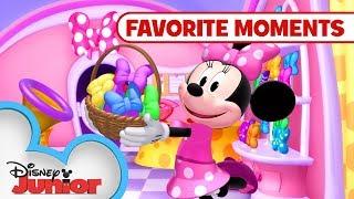 Minnie's Pet Adventures! Compilation 🐇| Minnie's Bow-Toons | Disney Junior