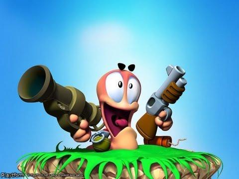 Обзор Саймона на игру Worms Revolution.