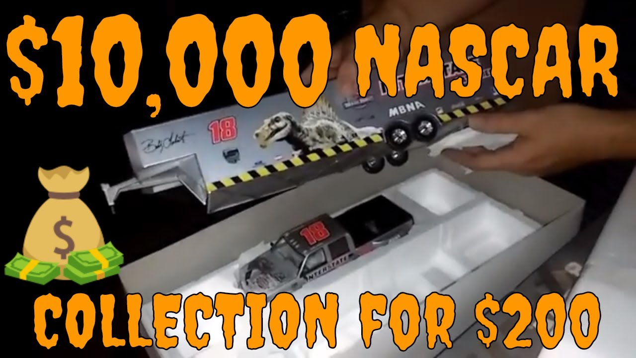 "Download VINTAGE NASCAR DIECAST COLLECTION ""UNBELIEVABLE""  VAN LOAD FOR ONLY $200"