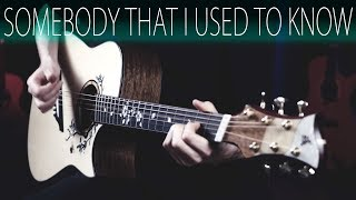 Gotye - Somebody that I used to knowAcoustic guitar fingerstyle cover