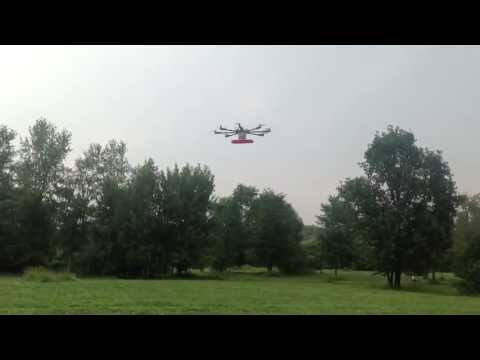Professional Octocopter with Naza v2+GPS