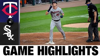 Max Kepler's two homers lift Twins on Opening Day | Twins-White Sox Game Highlights 7/24/20