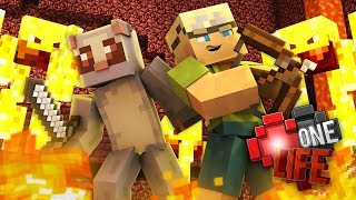 Battle With The Blazes - Minecraft: One Life SMP #14