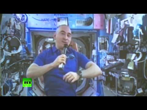 Russian cosmonaut votes from Intl Space Station (Duma elections 101)