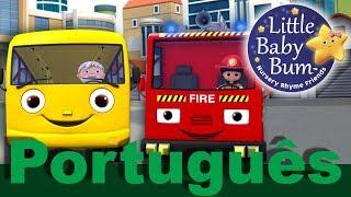 Rodas do Ônibus | Parte 11 | Canções infantis | LittleBabyBum