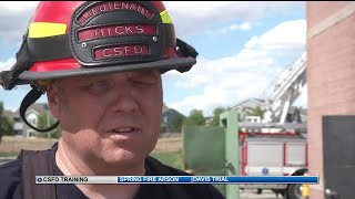Colorado Springs firefighters show us News 5 how they train