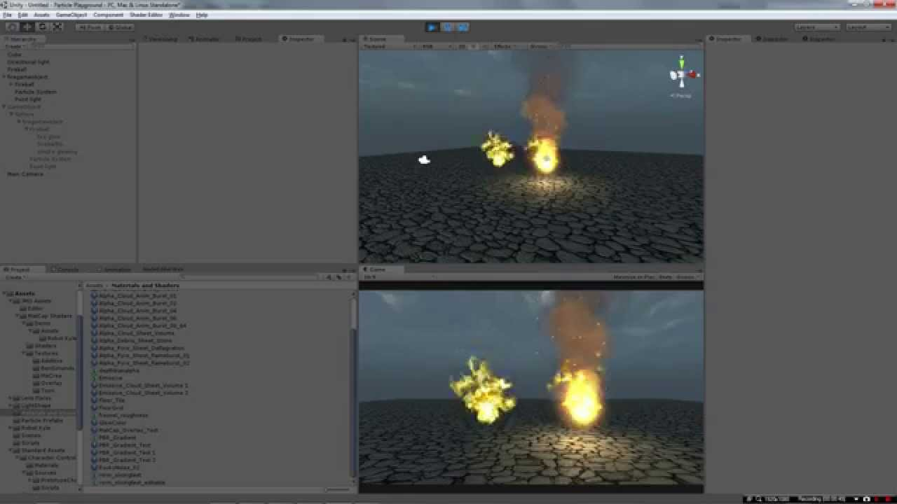 Particle Effects for Unity 03: Fire Animation