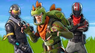 6 NEW SKINS (DINOSAURE, MOTARD - FUTUR) on FORTNITE!
