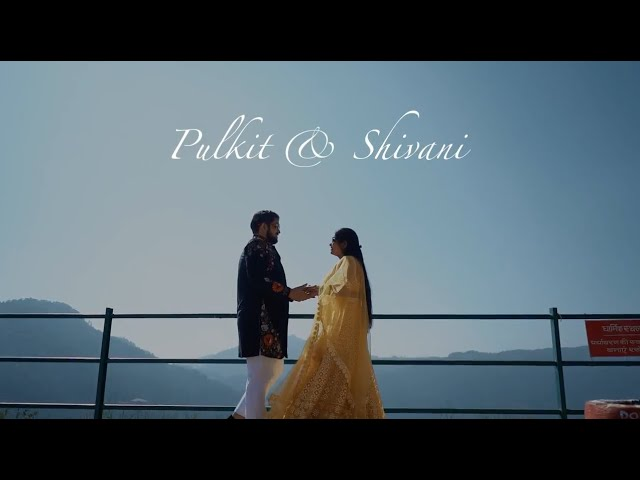 Most Romantic Pre Wedding Teaser Video 2021 || PULKIT & SHIVANI || THE WEDDING FOCUS