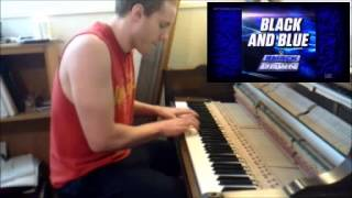"Wrestling Piano Themes - ""Black & Blue"" (WWE Smackdown Theme)"